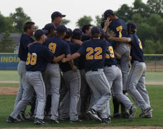 Clinching 2012 Classic Eight championship at Mukwonago